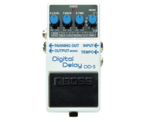Boss DD5 Digital Delay Mods