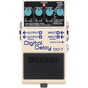 Boss DD7 Digital Delay Mods