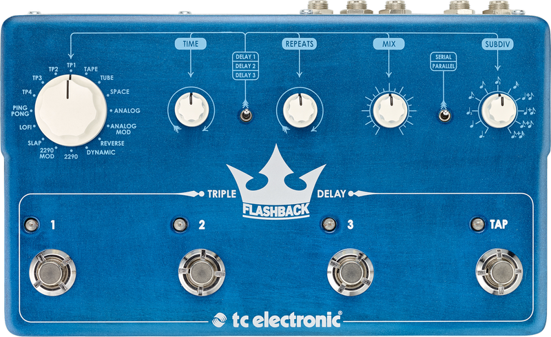 TC Electronic Flashback Triple Delay Mods