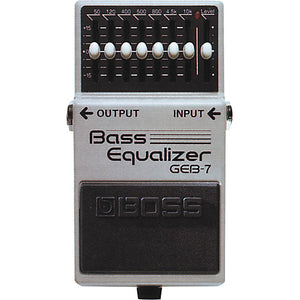 Boss GEB7 Bass Equalizer Mods
