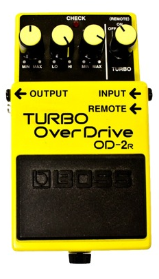 Boss OD2R Turbo Overdrive Mods