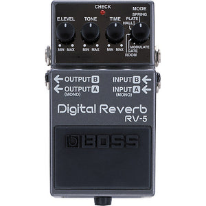 Boss RV5 Digital Reverb Mods