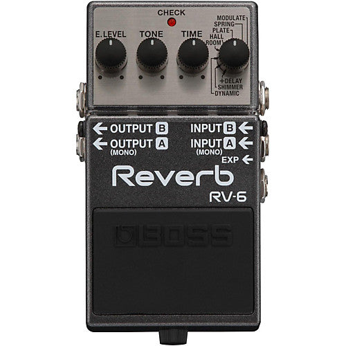 Boss RV6 Reverb Mods