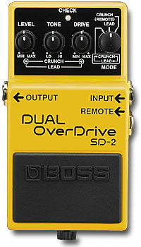 Boss SD2 Dual Overdrive Mods