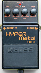 Boss HM3 Hyper Metal Mods