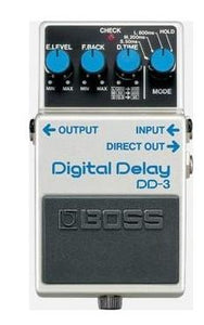 Boss DD3 Digital Delay Mods