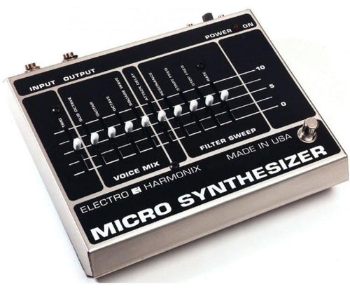 EHX Micro Synthesizer Vintage Mods
