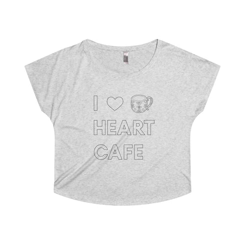 I Heart Cafe Crop Top