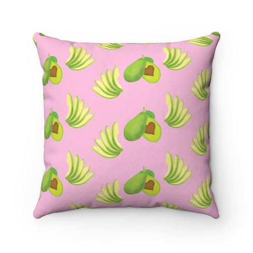 Avo Love Square Pillow