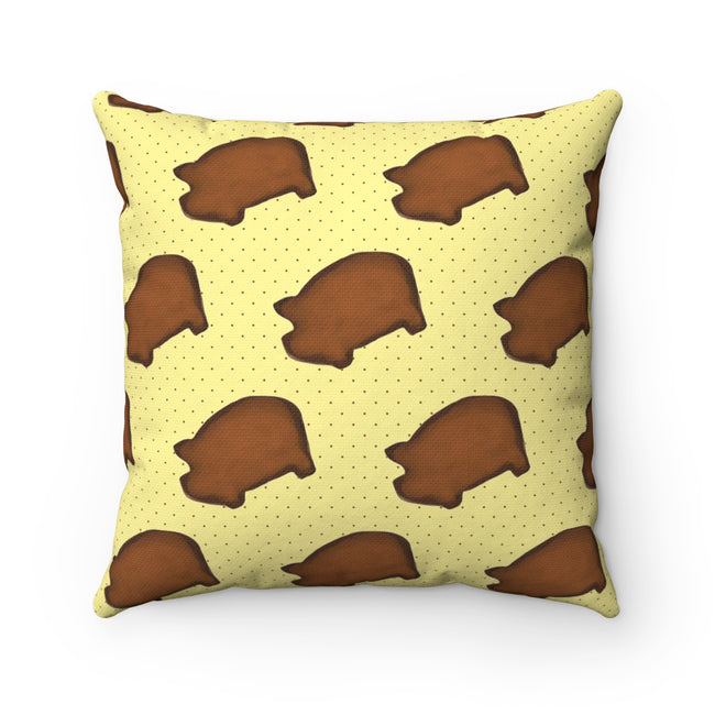 Ginger Cookies Square Pillow