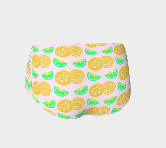 Lime Snack Hot Pants