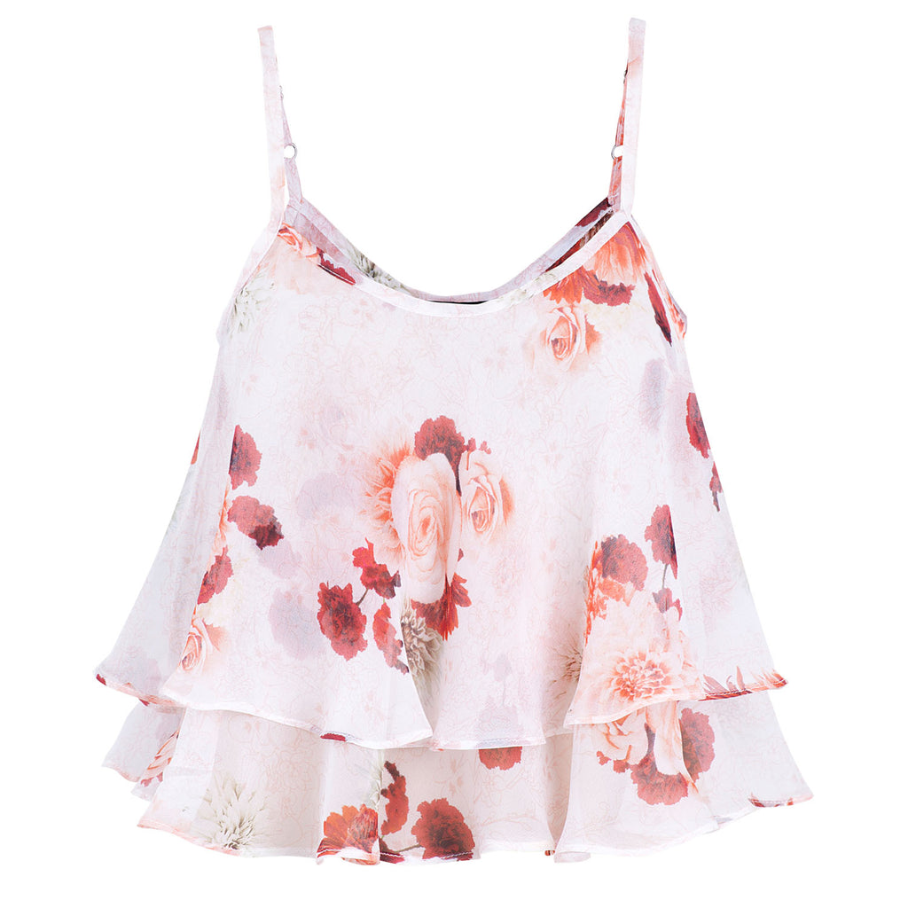 Secret Garden Tiered Cami