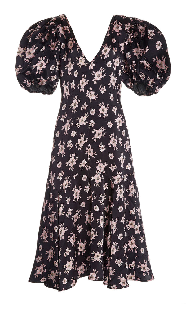 Cottage Floral Maxi Dress