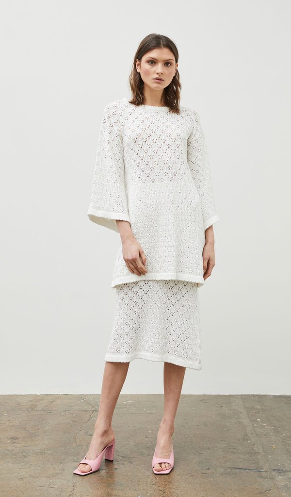 Nightingale Organic Knit Tunic Dress