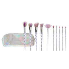 10-Piece Pastel Unicorn Brush Set