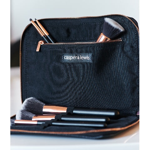 Rose Gold Set - Rose Gold Premium Makeup Brushes