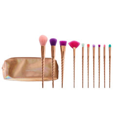 Unicorn Brush Set - 10-Piece Rose Gold Unicorn Brush Set