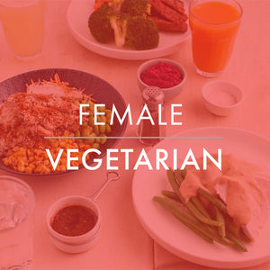 FEMALE VEGETARIAN