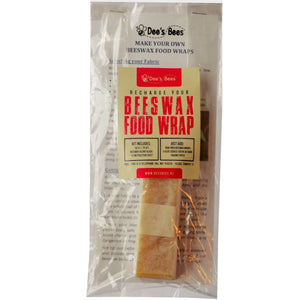 DIY Beeswax Food Wrap Recharge Kit