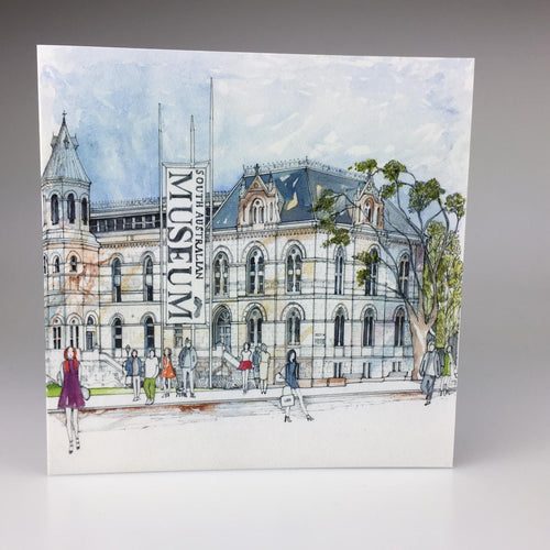 'South Australian Museum, North Terrace' Greeting Card