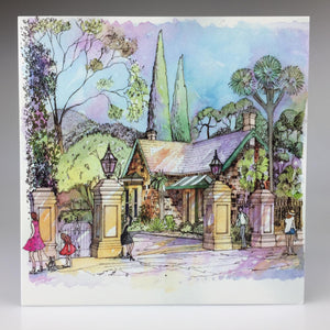 Adelaide Botanic Garden North Lodge' Greeting Card