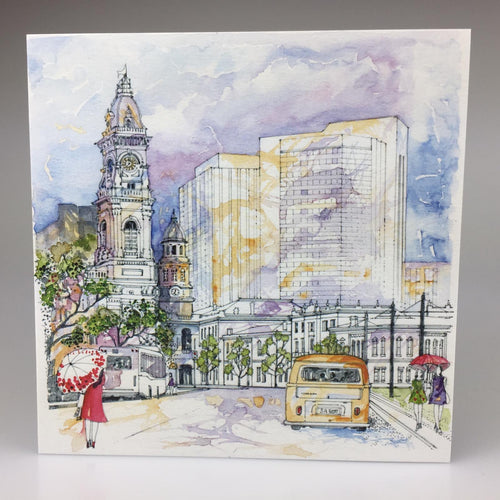 Victoria Square' Greeting Card