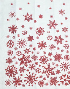 'Snowflake' Tea Towel