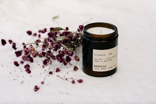 Barossa - Lily, Rose + Ruby Plum Soy Candle