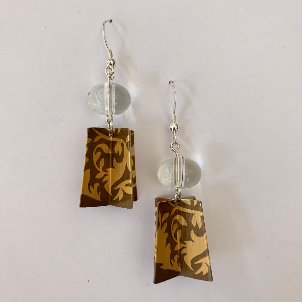 Upcycled Abstract Earrings - Edition 1668