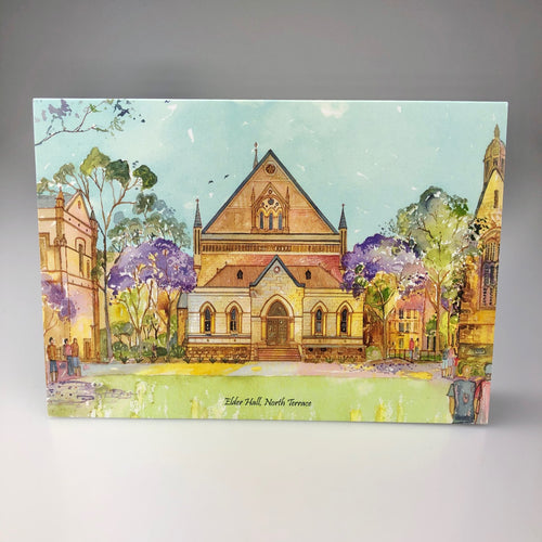 'Elder Hall, North Terrace' Greeting Card