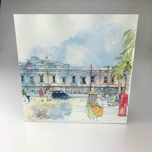 'Classic Glenelg, Moseley Square' Greeting Card