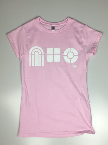 Women's 'Play School' Tee, Pink