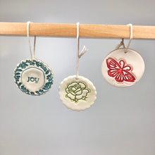 Christmas Ornament Round