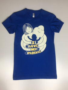 Women's 'I Love My Parents' T-shirt