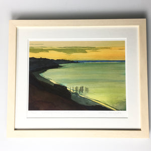 Framed Print 'Evening Calm Port Willunga'