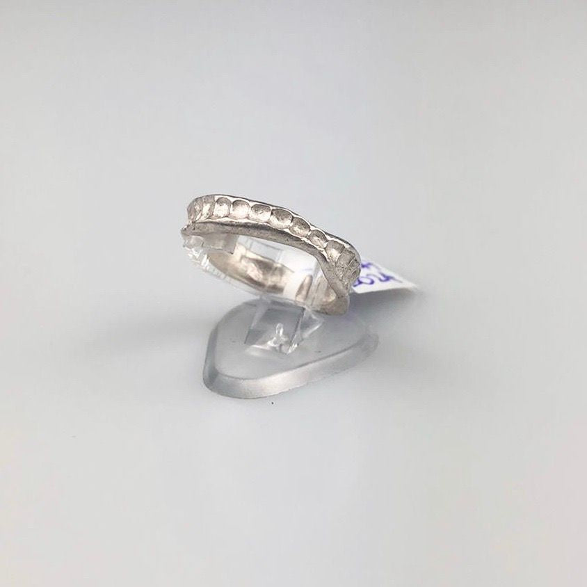 Silver Imprint Ring