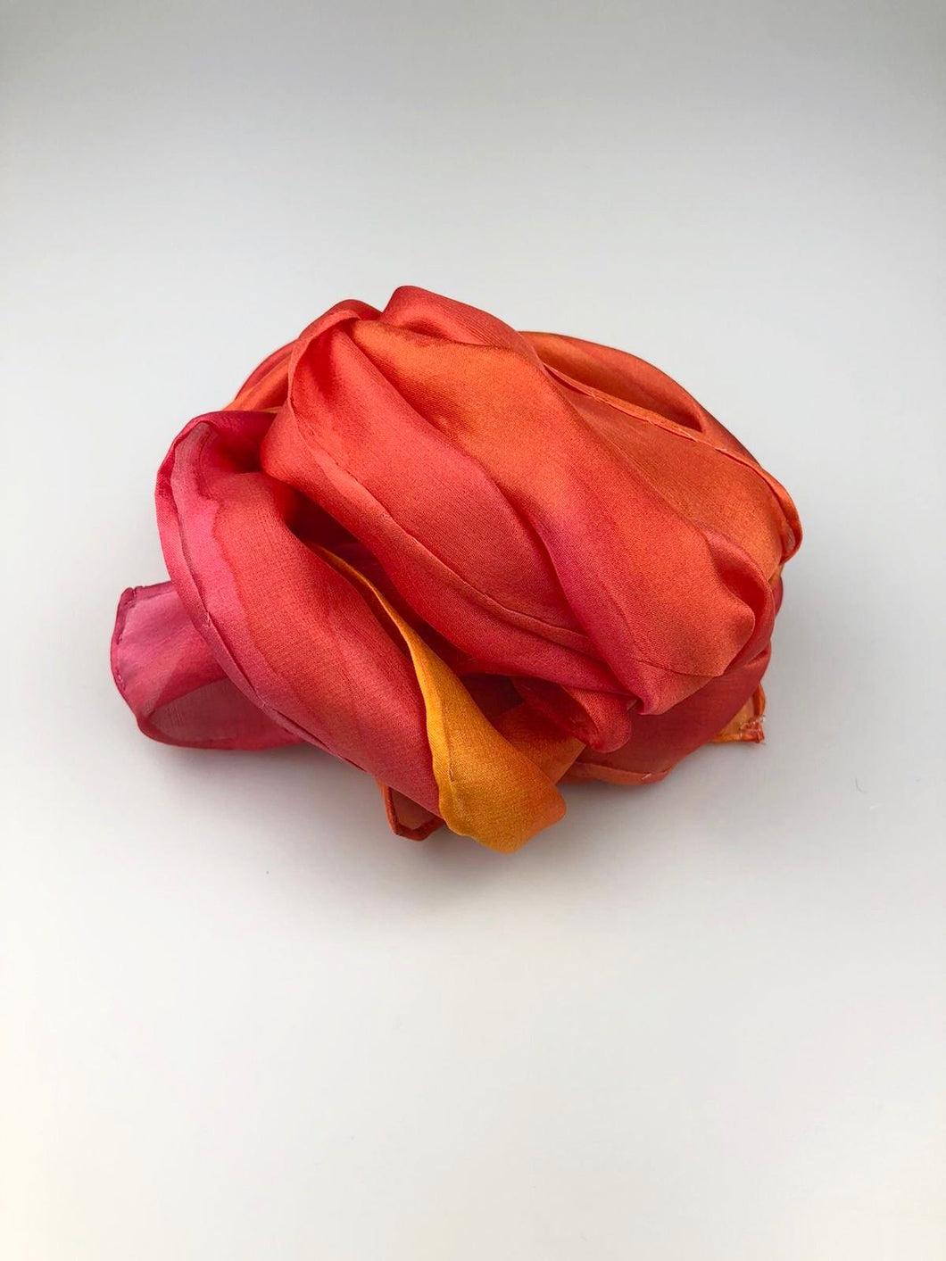 Small Silk Scarf -Flying Phoenix