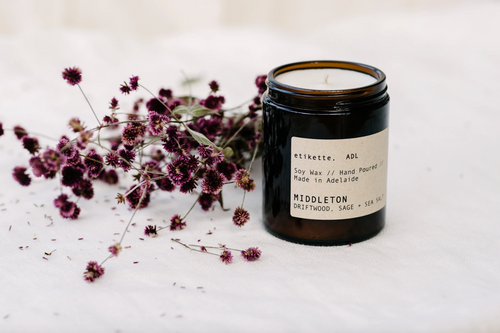 Middleton - Driftwood, Sage + Sea Salt Soy Candle