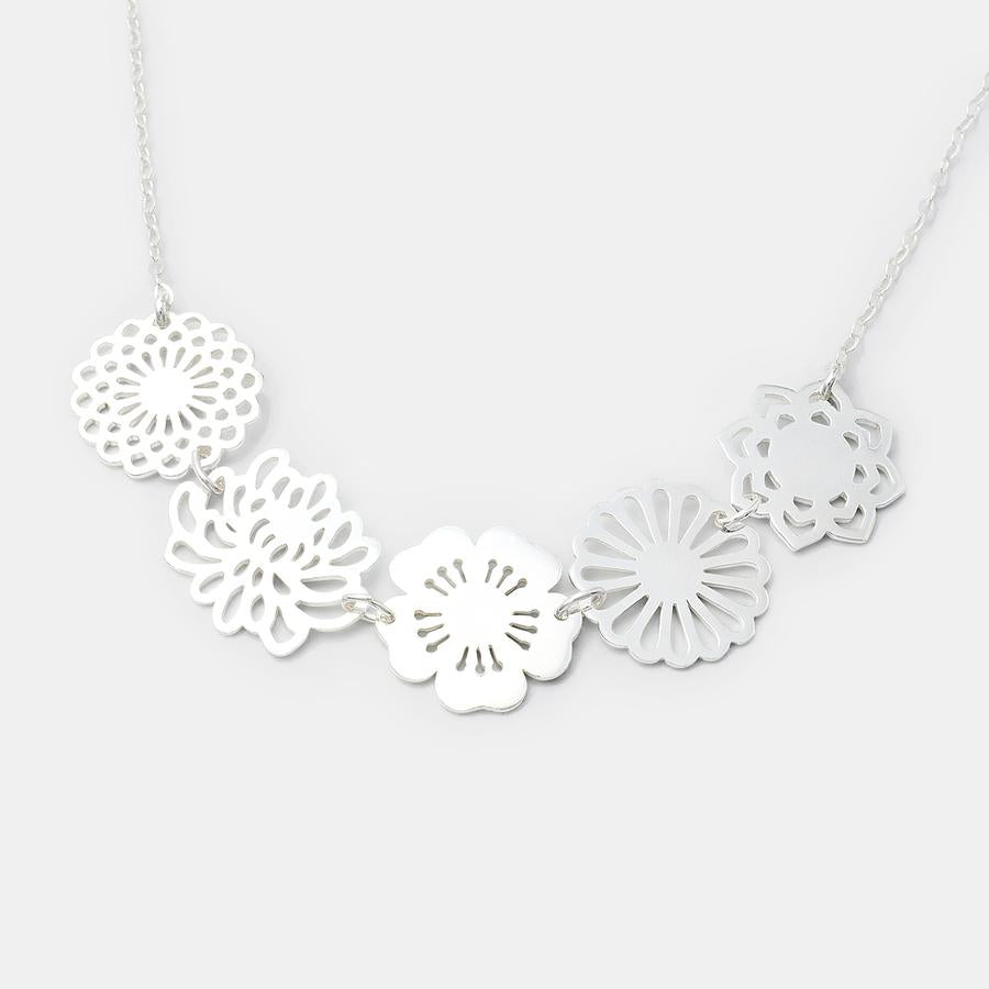 Bouquet of Flowers Necklace