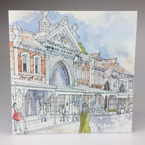 'East End Market' Greeting Card