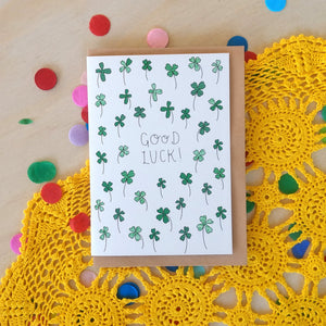 'Good Luck!' Greeting Card