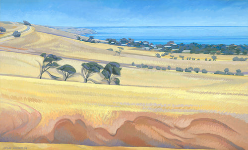 South Australian Landscape Card, Herrick's Cutting