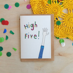 'High-Five!' Greeting Card