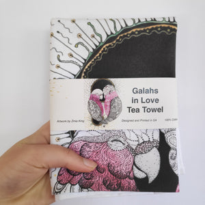 ˜Galahs in Love™ Tea Towel
