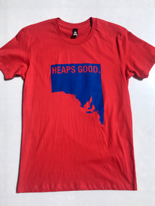Unisex Heaps Good T-shirt in Red