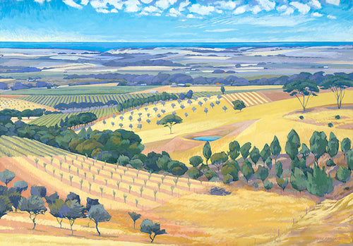 South Australian Landscape Card, New Plantings