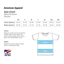Unisex 'Heaps Good' American Apparel T-shirt in White