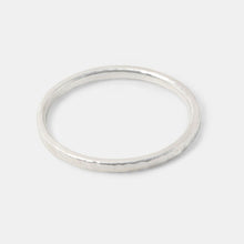 Silver Stacking Ring Single Size N