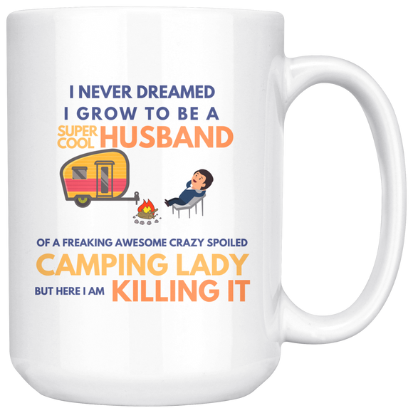 Super Cool Husband Mug 15 Oz