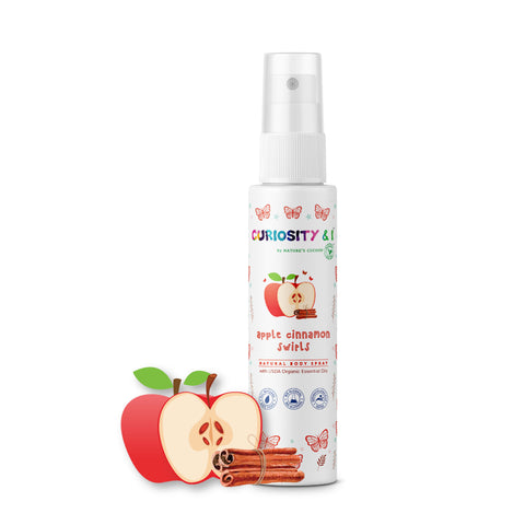 Kids Natural Body Spray - Apple Cinnamon Swirls (100ml) - Curiosity&I